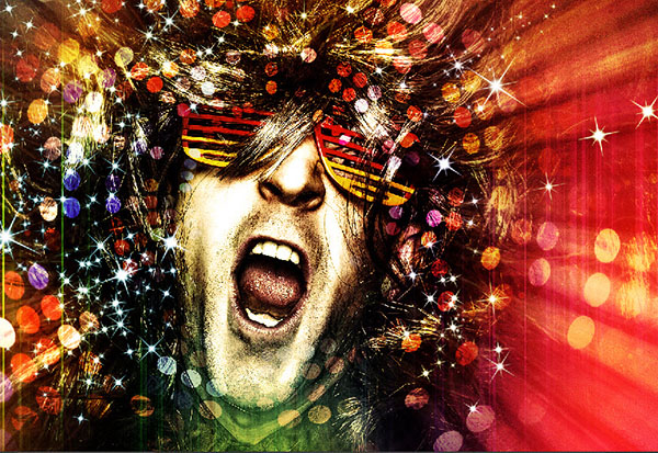 Create a crazy disco effect with Photoshop 20