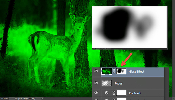 Create a cool infrared effect with Adobe Photoshop 7