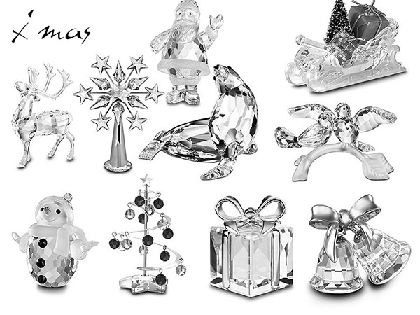 Crystal Xmas Miniatures