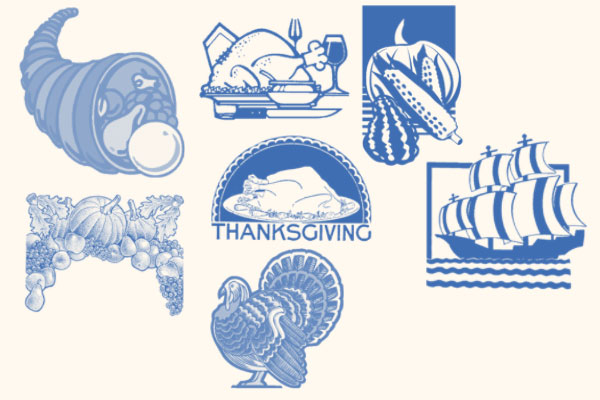 Thanksgiving Photoshop Brushes