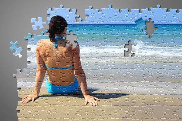 Learn How to Create Jigsaw Puzzle Effect in Photoshop 23c