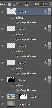 Learn How to Create Jigsaw Puzzle Effect in Photoshop 24