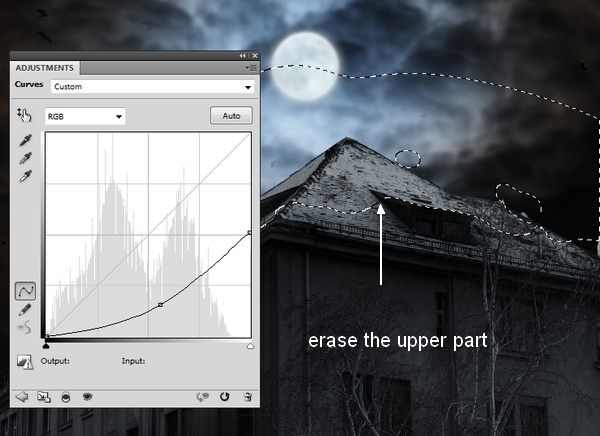 Create a Haunted House Scene with Photoshop 16