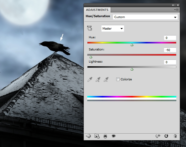 Create a Haunted House Scene with Photoshop 21