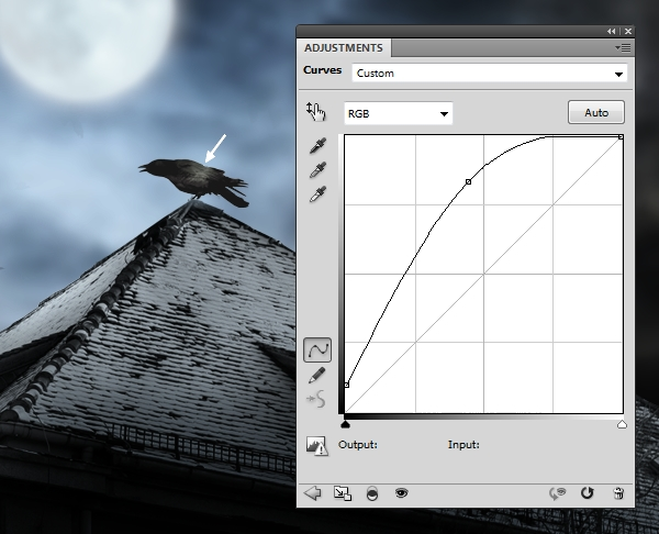 Create a Haunted House Scene with Photoshop 22