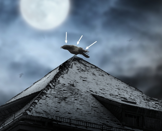 Create a Haunted House Scene with Photoshop 25