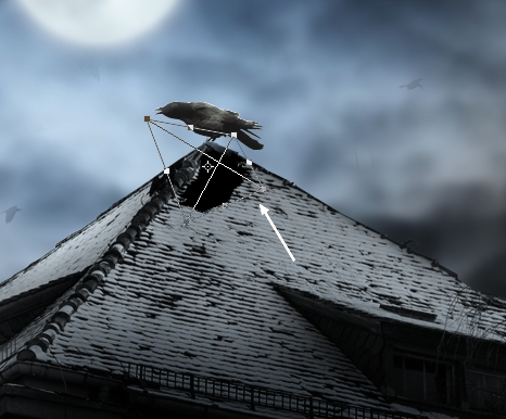 Create a Haunted House Scene with Photoshop 27
