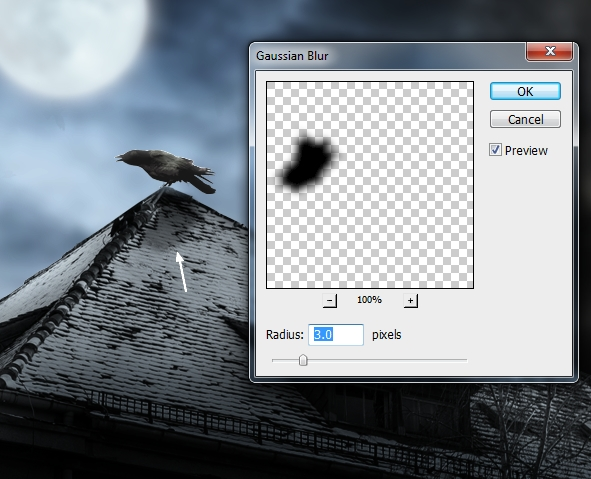 Create a Haunted House Scene with Photoshop 29