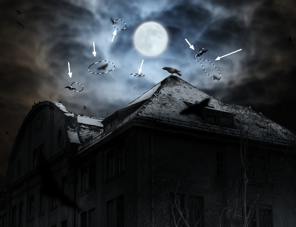Create a Haunted House Scene with Photoshop 34