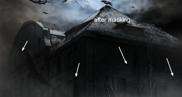 Create a Haunted House Scene with Photoshop 43