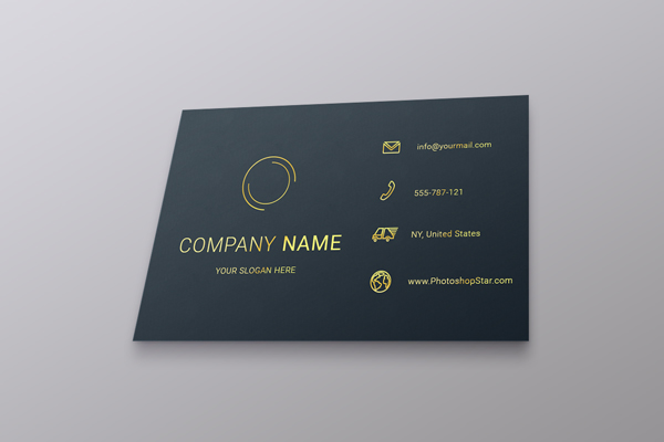 How to Make a Business Card in Photoshop 25