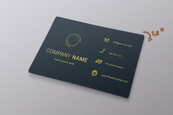 How to Make a Business Card in Photoshop 27