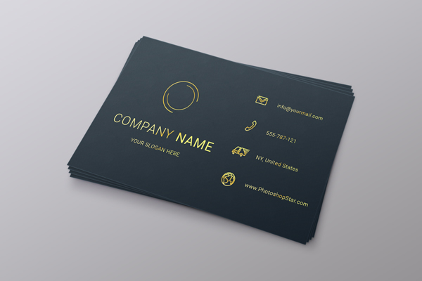 How to Make a Business Card in Photoshop 30