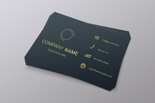 How To Make A Business Card In Photoshop