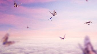 Create a Surreal Flying Scene with Giant Butterflies in Photoshop