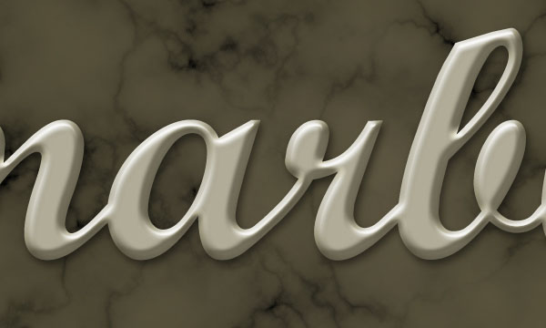 Create a Marble Text Effect in Adobe Photoshop 9
