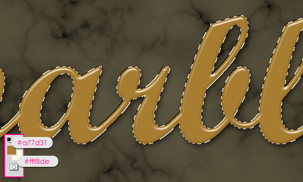Create a Marble Text Effect in Adobe Photoshop 12