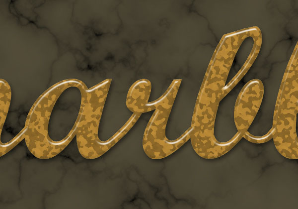 Create a Marble Text Effect in Adobe Photoshop 15