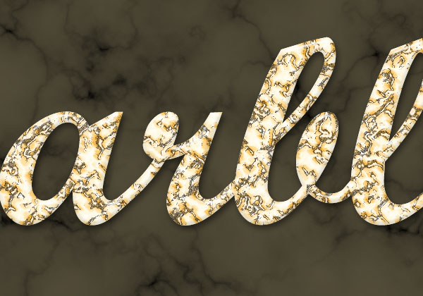 Create a Marble Text Effect in Adobe Photoshop 21