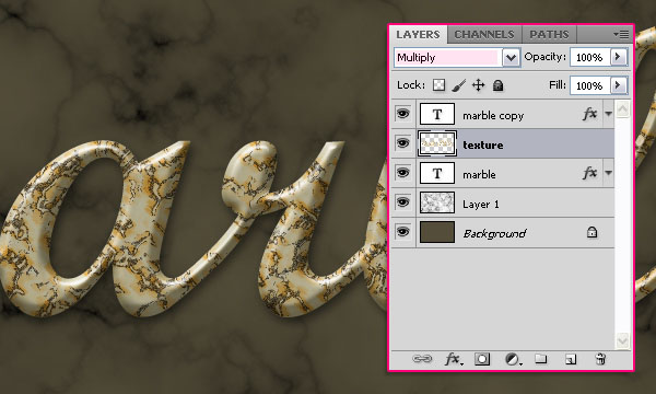 Create a Marble Text Effect in Adobe Photoshop 22