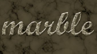 Create a Marble Text Effect in Adobe Photoshop