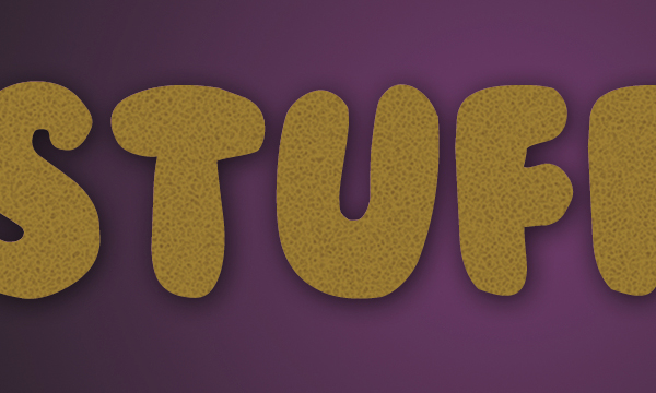 How to Create Stuffed Text Effect in Photoshop 14