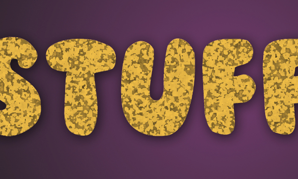 How to Create Stuffed Text Effect in Photoshop 16