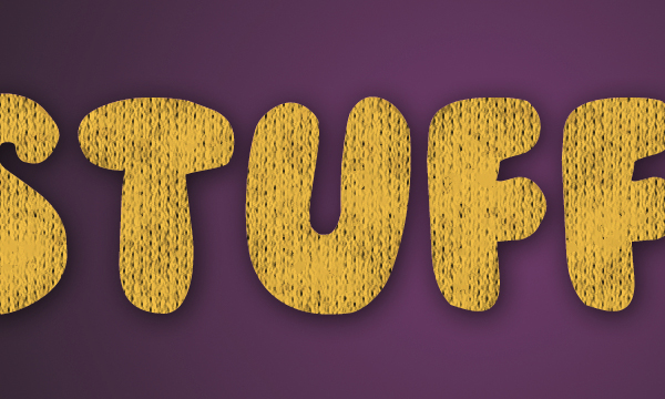 How to Create Stuffed Text Effect in Photoshop 18