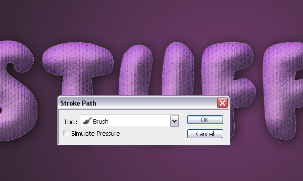 How to Create Stuffed Text Effect in Photoshop 26