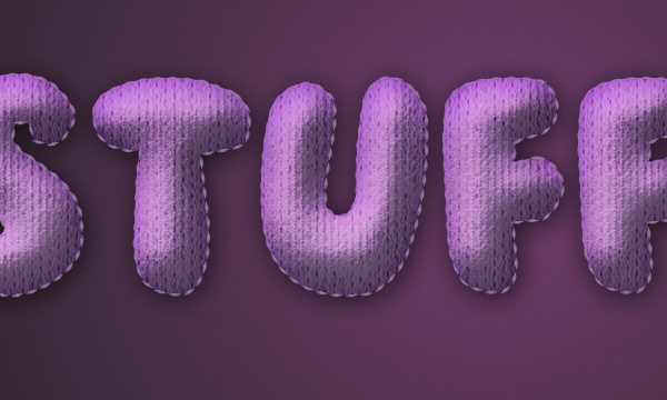 How to Create Stuffed Text Effect in Photoshop 27