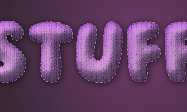 How to Create Stuffed Text Effect in Photoshop 30