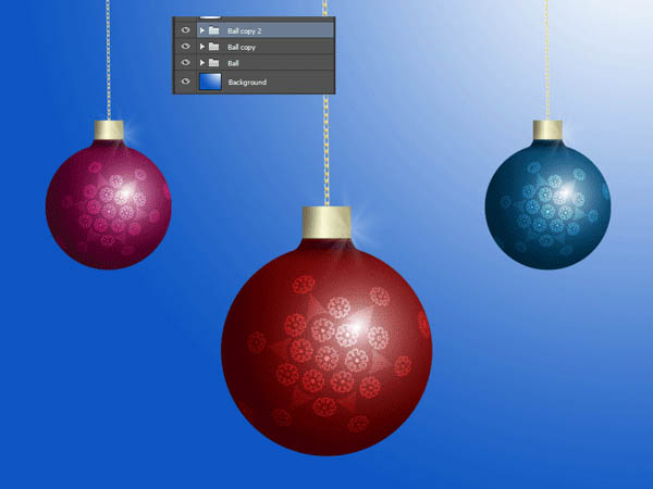 How To Create a Christmas Ornament Ball 34