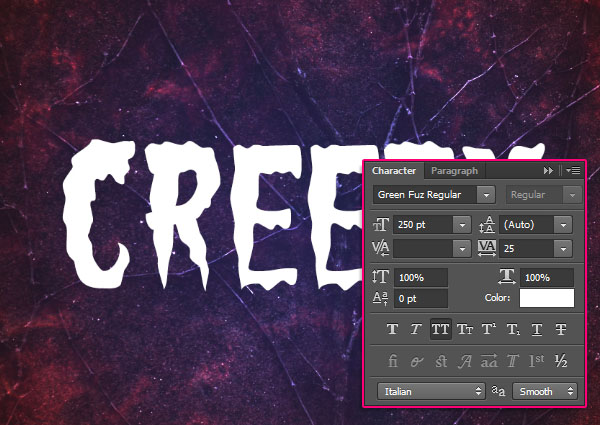 Create a Creepy Halloween Text Effect 8