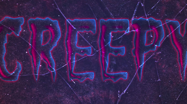 Create a Creepy Halloween Text Effect 14