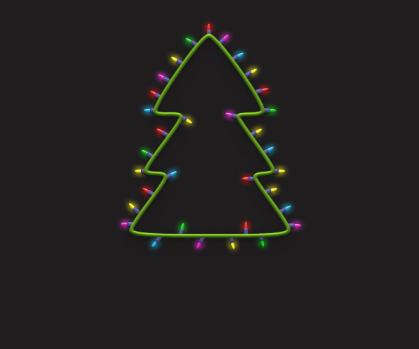 How to Create a Christmas Tree in Adobe Photoshop 31