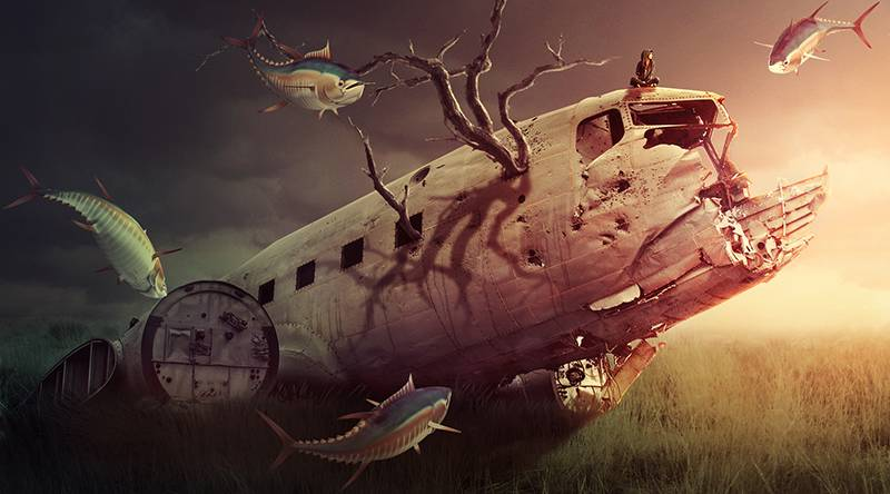 How to Create a Surreal Scene in Adobe Photoshop 1