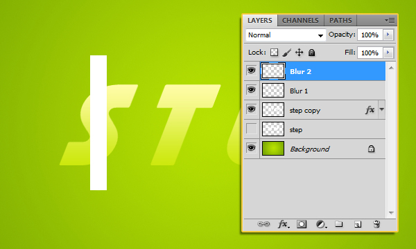Create a Cool Unusual Text Effect in Adobe Photoshop 11
