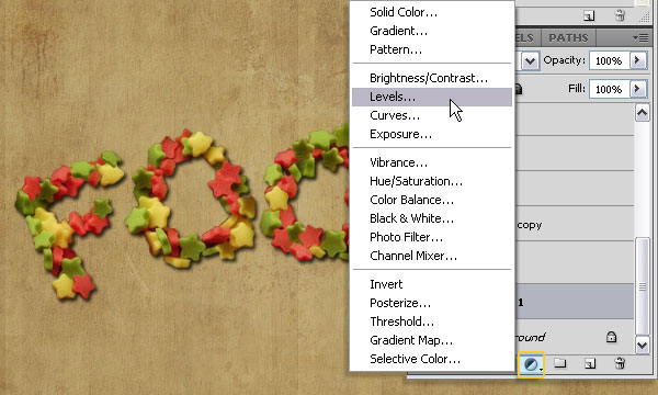 How to Create a Stars Candy Text Effect in Adobe Photoshop 40