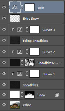 Learn How to Add Snow to a Photo in Photoshop 25
