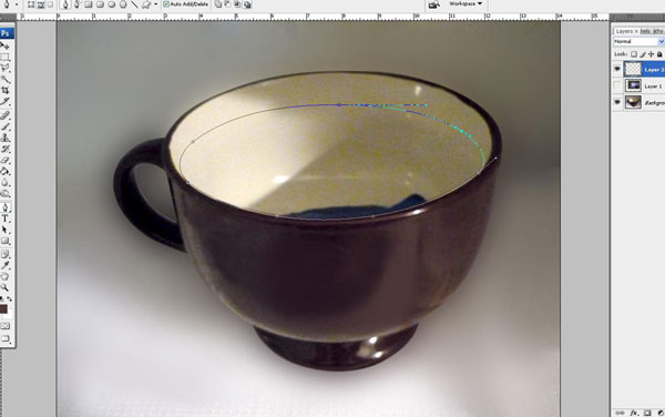 Create a Water Lily in a Cup Effect in Photoshop 11