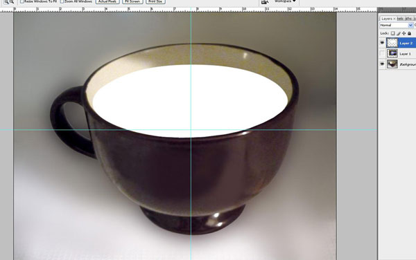 Create a Water Lily in a Cup Effect in Photoshop 12
