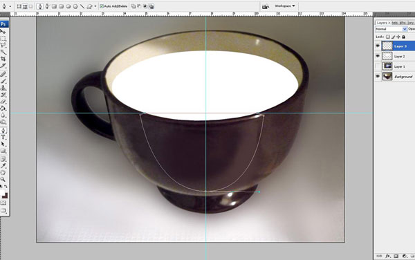 Create a Water Lily in a Cup Effect in Photoshop 13