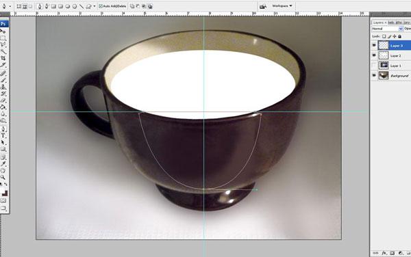 Tạo một hiệu ứng hoa súng trong một chiếc cốc trong Photoshop 13