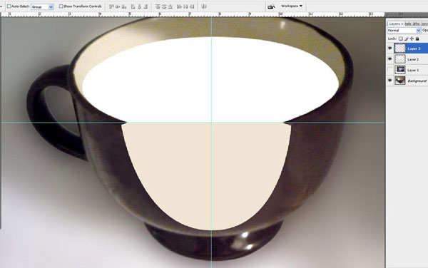 Create a Water Lily in a Cup Effect in Photoshop 15