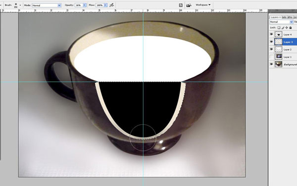 Create a Water Lily in a Cup Effect in Photoshop 17