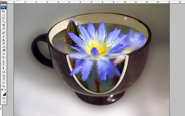 Create a Water Lily in a Cup Effect in Photoshop 32