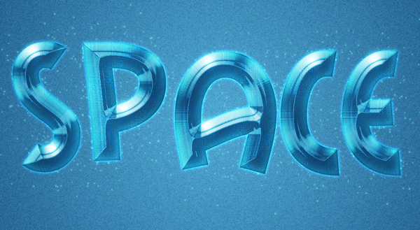 How to Create a Space Style Text Effect in Photoshop
